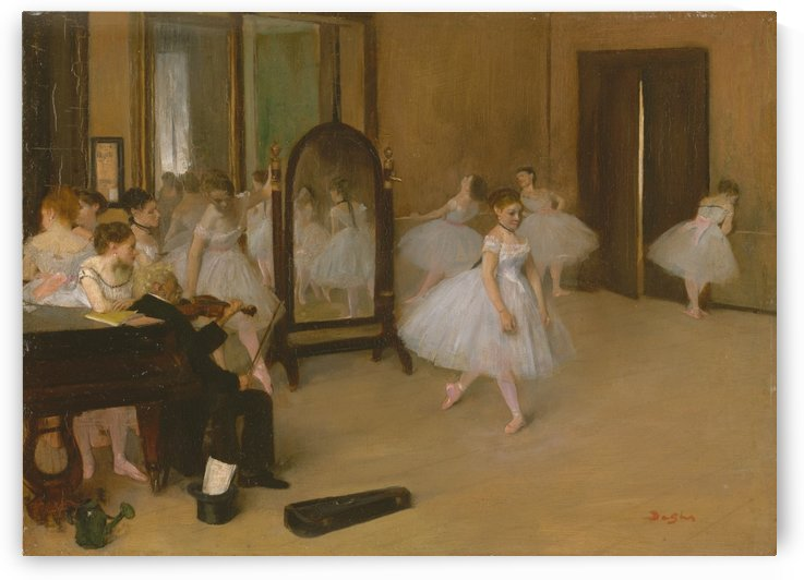 The Dancing Class by Nicolas Antoine Taunay
