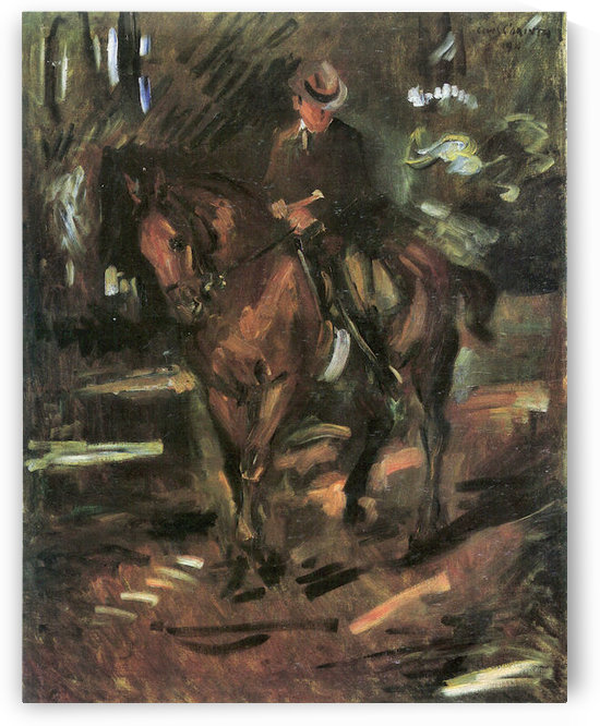 Morning Ride by Lovis Corinth by Lovis Corinth