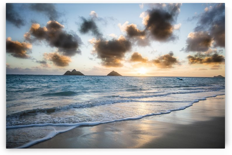 LaniKai Beach by Ramon Brockington