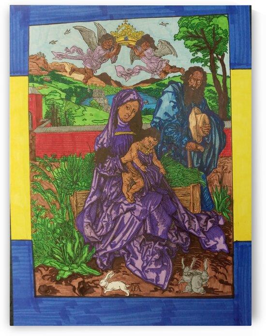Virgin Mary by Betojimenez