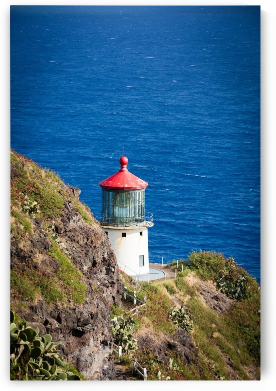 MakaPuu Lighthouse by Ramon Brockington