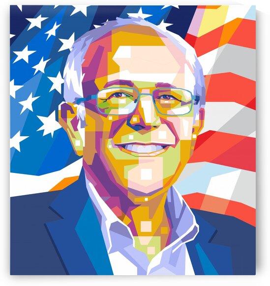Bernie Sanders by wpapartist