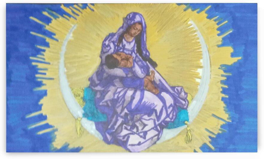 Virgin Mary 1 by Betojimenez