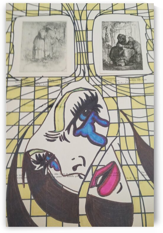 Girl yellow and white by Betojimenez