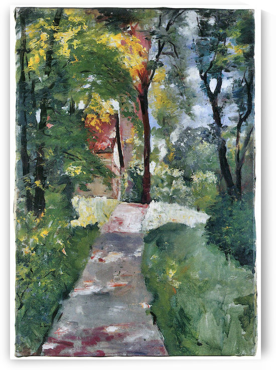 Morning sun by Lesser Ury by Lesser Ury
