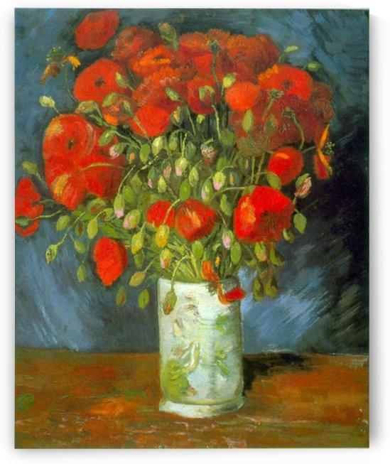 Red Poppies by Van Gogh by Van Gogh