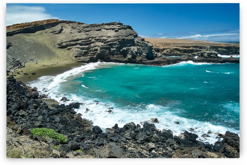 green beach by Andrew Wasik