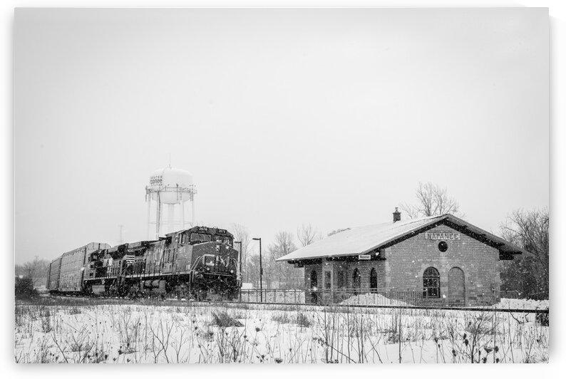 Napanee Station by Dan Fleury