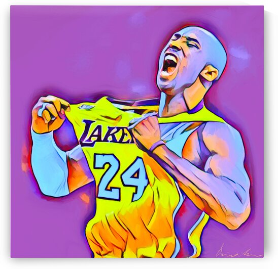 Kobe 24 Los Angeles Forever by Enrico Moses