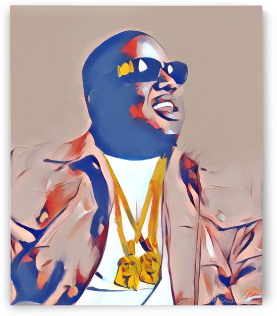 Notorious B.I.G. 2 Jesus Pieces by Enrico Moses