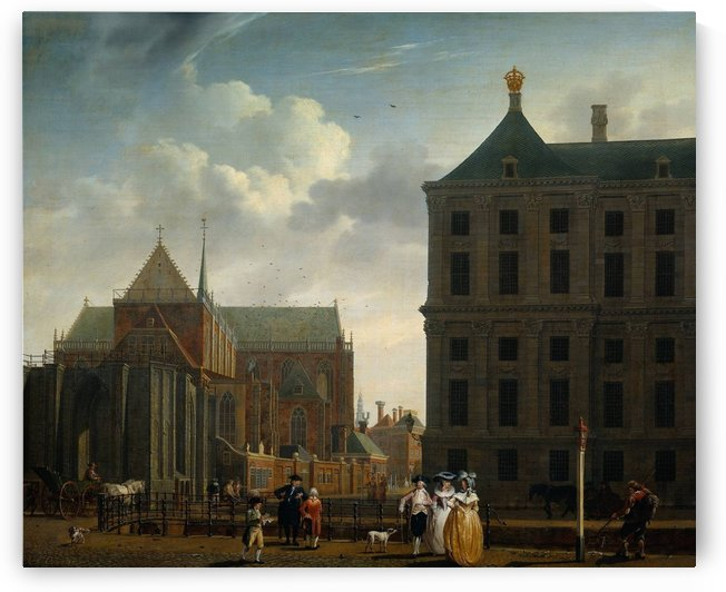 Nieuwe Kerk by Isaac Ouwater