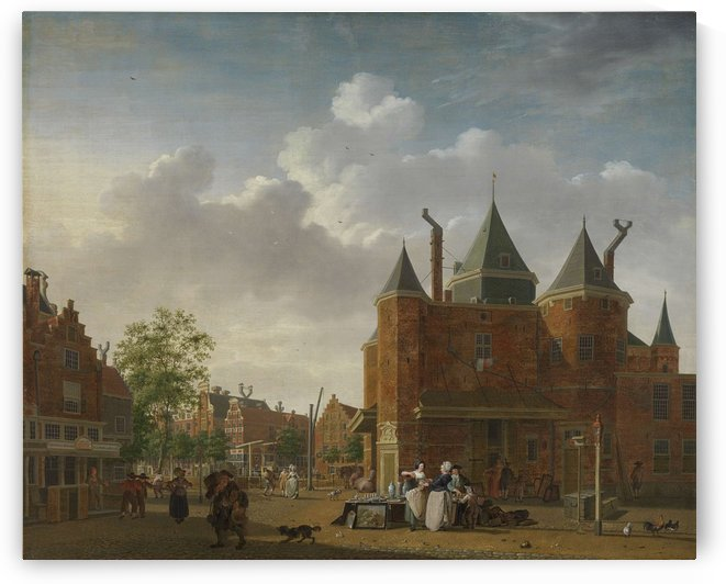 St Anthony Waag in Amsterdam by Isaac Ouwater