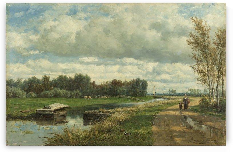 Landschap in de omgeving van Den Haag by Willem Roelofs