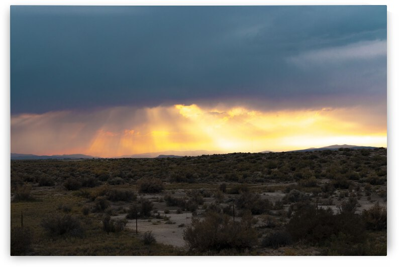 Sunset in Nevada No.2 by Christian Stark Photography
