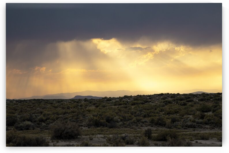 Sunset in Nevada No.1 by Christian Stark Photography