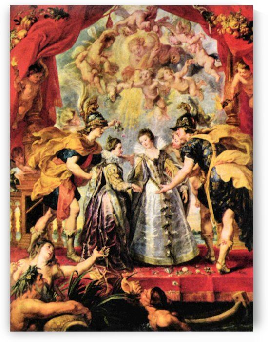 Replacing the Medici Princess by Rubens by Rubens