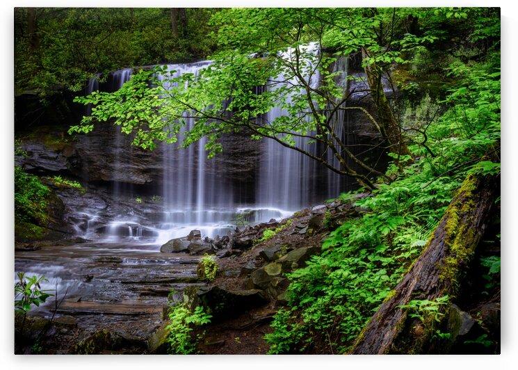 Grassy Creek Falls Little Switzerland NC by Mark Daniels