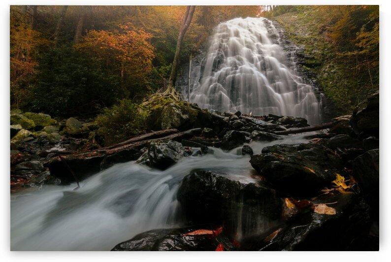 Crabtree Falls Blue Ridge Parkway  by Mark Daniels