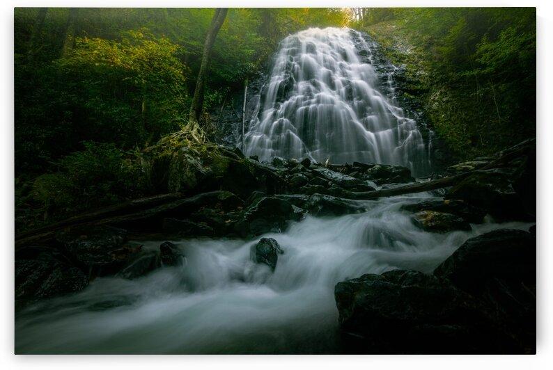 Crabtree Falls Blue Ridge Parkway  II by Mark Daniels