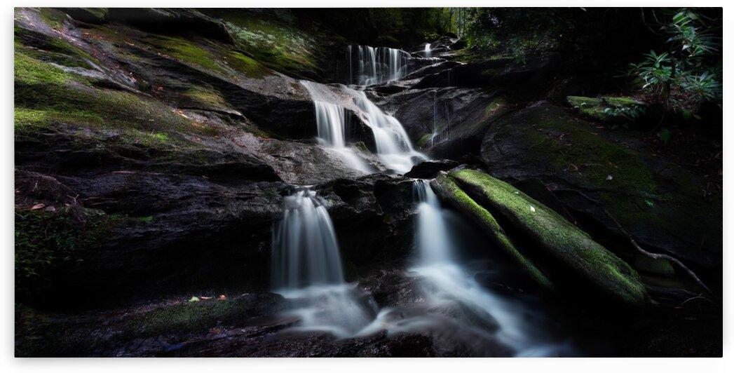 Roaring Fork Falls Panoramic by Mark Daniels