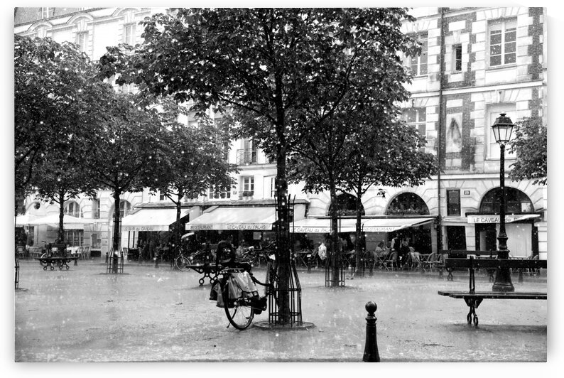 Place du Marche Sainte Catherine by Bill Osuch
