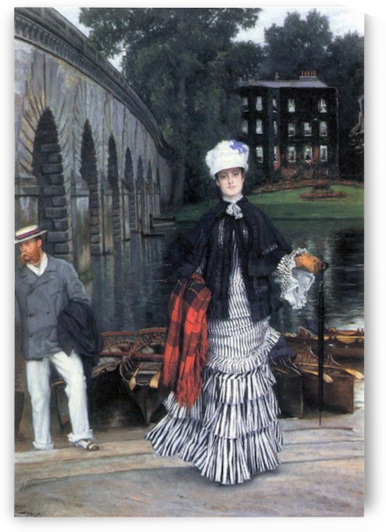 Return of the boat trip by Tissot by Tissot