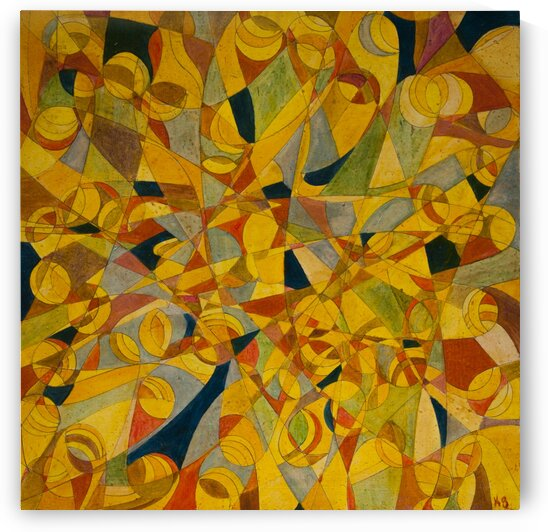 ABSTRACT SHAPES 17  by Keith Gustin