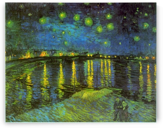 Rhone by Van Gogh by Van Gogh