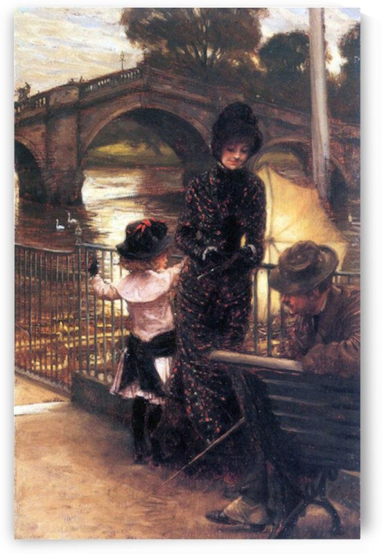 Richmond on the Thames by Tissot by Tissot