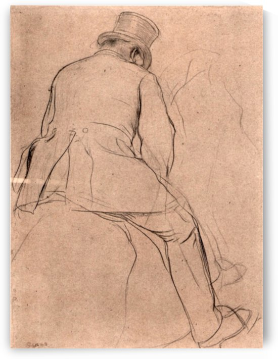 Rider by Degas by Degas