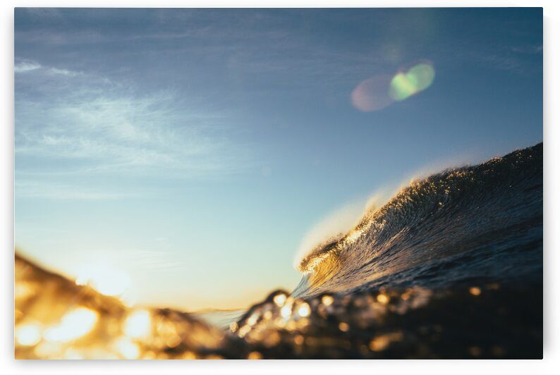 Golden Wave by Dom Granger Photography