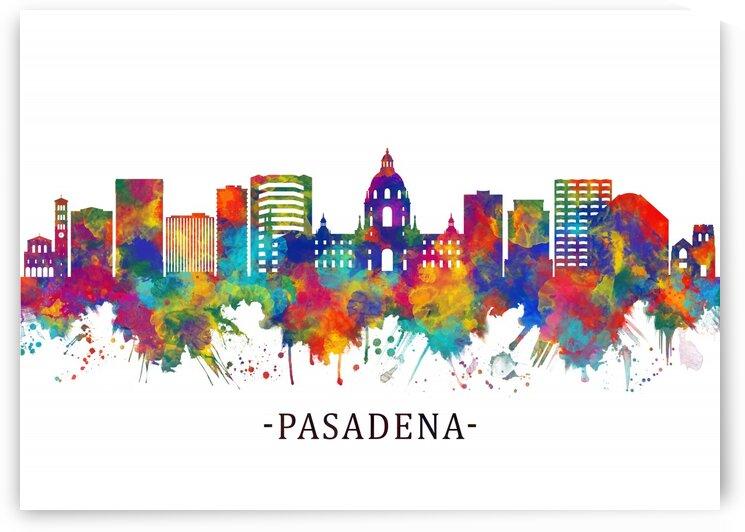 Pasadena California Skyline by Towseef Dar