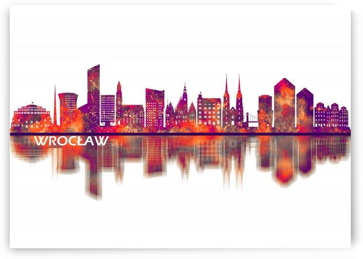 Wroclaw Poland Skyline by Towseef Dar