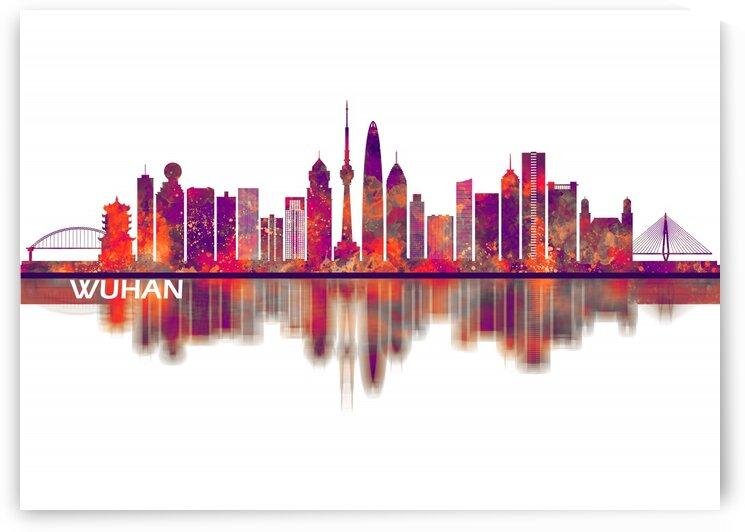 Wuhan China Skyline by Towseef Dar