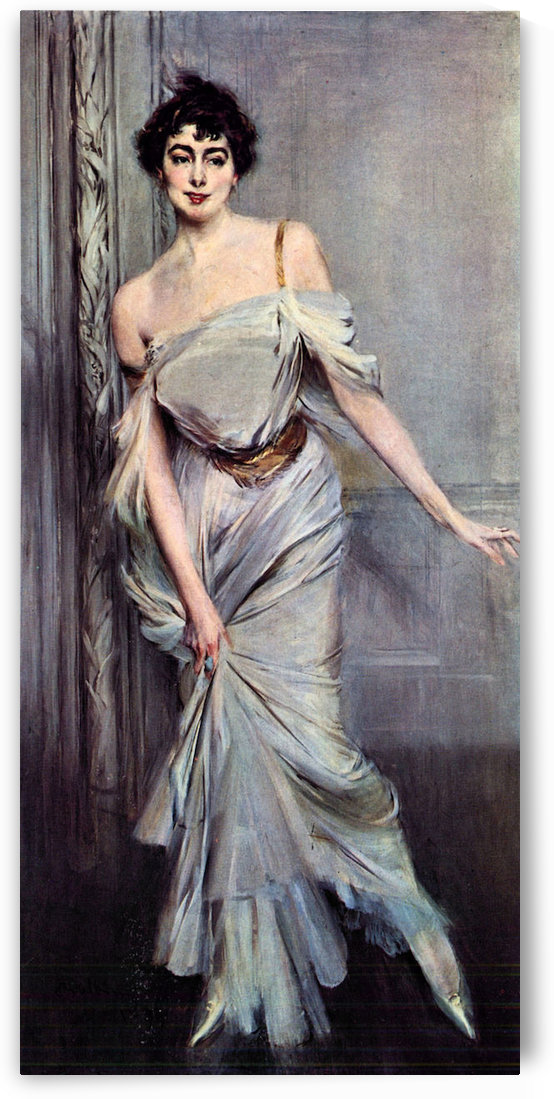 Mrs. Charles Max by Giovanni Boldini by Giovanni Boldini