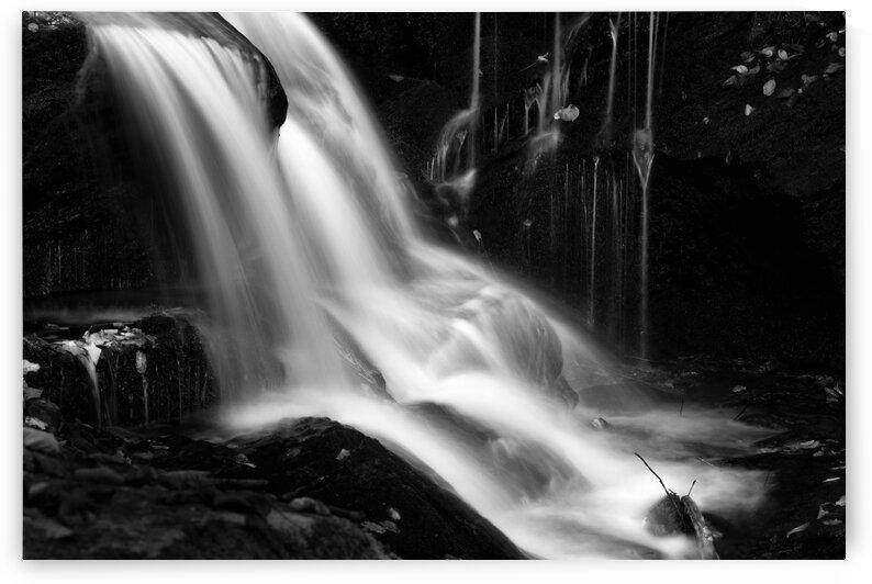 Roaring Fork Falls BW by Mark Daniels
