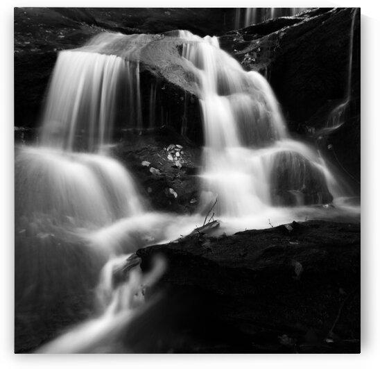 Roaring Fork Falls BW I by Mark Daniels