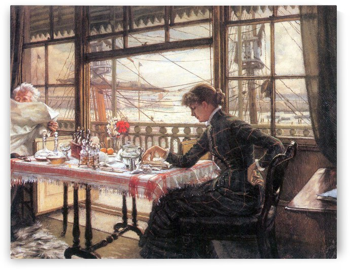 Room with a glance from the port by Tissot by Tissot