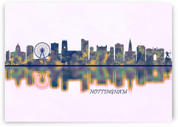 Nottingham Skyline by Towseef Dar