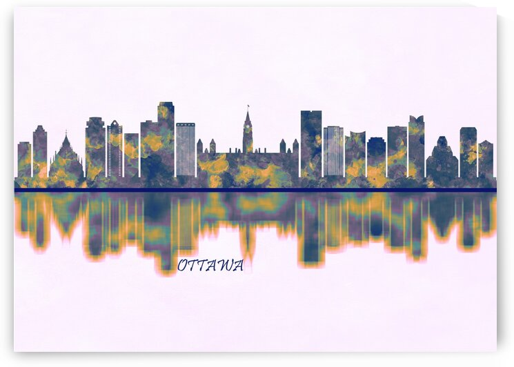 Ottawa Skyline by Towseef Dar