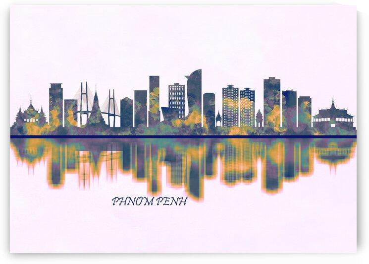 Phnom Penh Skyline by Towseef Dar