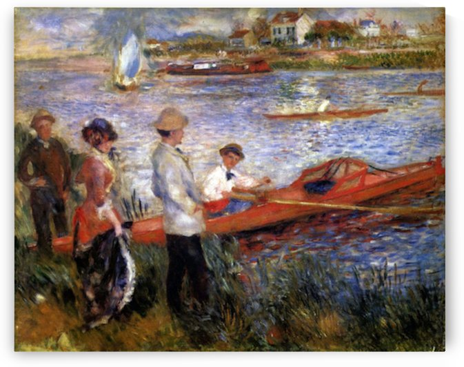 Rowers from Chatou by Renoir by Renoir