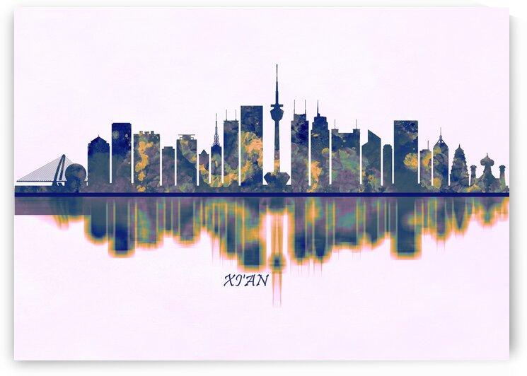 Xian Skyline by Towseef Dar