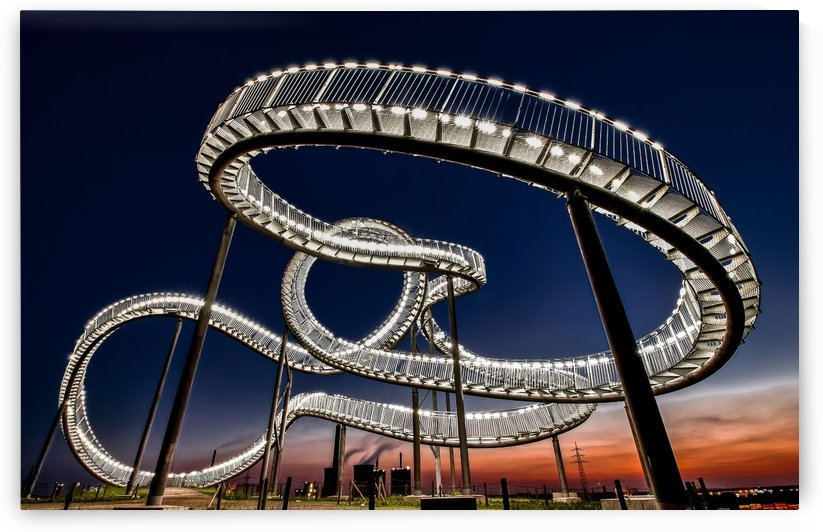 Tiger and Turtle at dawn by 1x