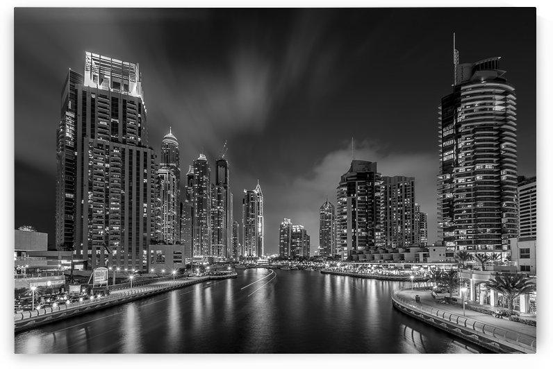 Dubai Marina by Vinaya Mohan  by 1x