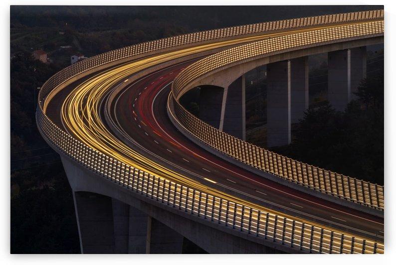 Viadukt AŒrni Kal by Jaka Ivancic  by 1x