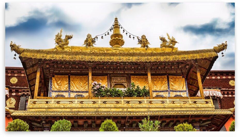 The Jokhang Buddhist Monastery In Lhasa Tibet 26 | 6-2016 by Vlad Meytin