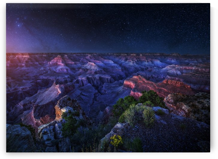 Grand Canyon Night by 1x