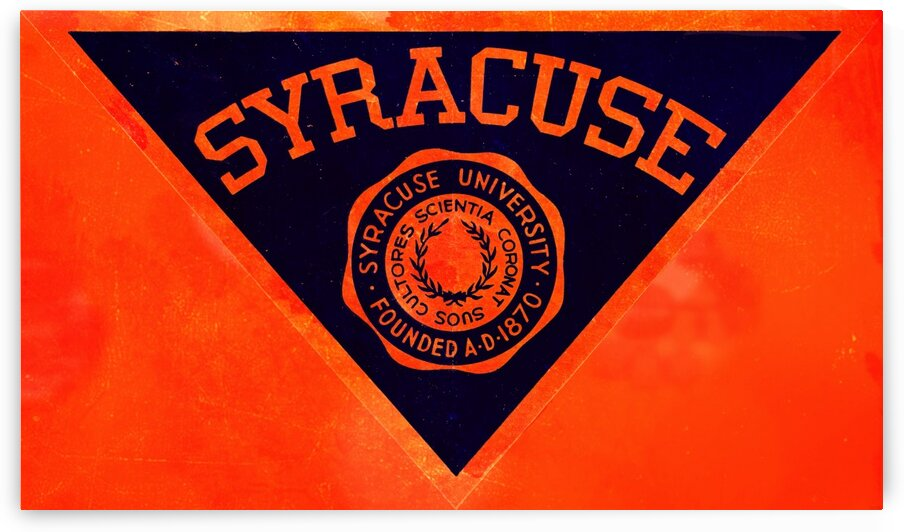 Vintage Syracuse Art by Row One Brand