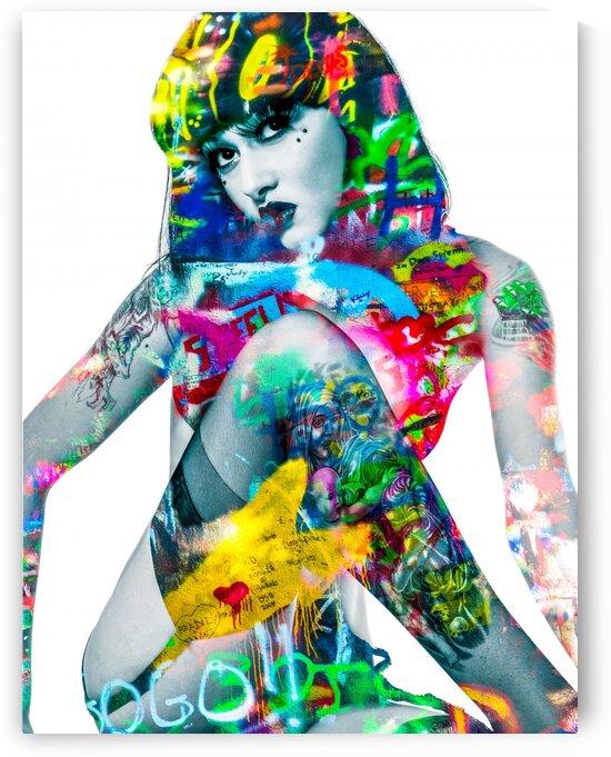 SUZANNE  by FANNY artiste peintre